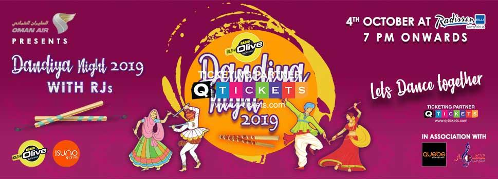 RADIO OLIVE DANDIYA NIGHT 2019 Tickets Online In Qatar | Q