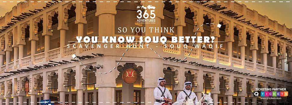 EID Special – Scavenger Hunt in Souq Waqif Tickets Online In Qatar