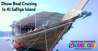 Dhow boat cruising to al Safliya island (GROUP BOOKING)