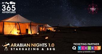 Arabian Night 1.0 Desert Safari, Stargazing & BBQ