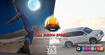 Full Moon Yoga  Desert Safari & BBQ
