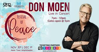 Festival of Peace Conference with Don Moen