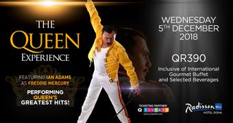 The Queen Experience 5th Dec 2018