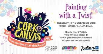 Cork & Canvas  Painting with a Twist 4th Dec