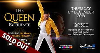 The Queen Experience 6th Dec 2018