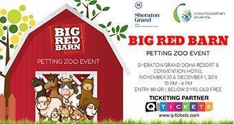 BIG RED BARN  PETTING ZOO EVENT