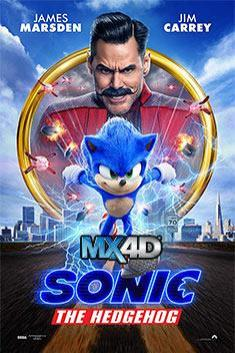 SONIC THE HEDGEHOG (MX 4D)
