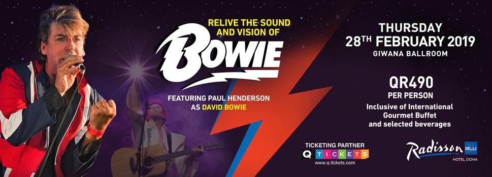 David Bowie Tribute Show | Events | Tickets | Discounts | Qatar Day