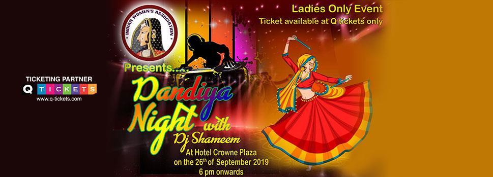 IWA Dandiya Night | Events | Tickets | Discounts | Qatar Day