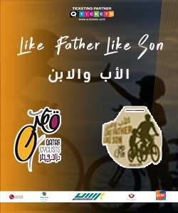 Like a Father Like a Son Bicycle Ride 2020