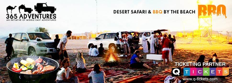 Desert Safari & BBQ by the Beach | Events | Tickets | Discounts | Qatar Day