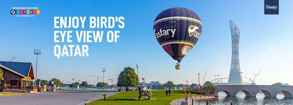 Asfary Hot Air Balloon | Events | Tickets | Discounts | Qatar Day