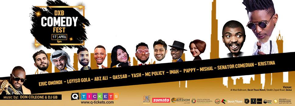 DXB COMEDY FEST | Just Dubai