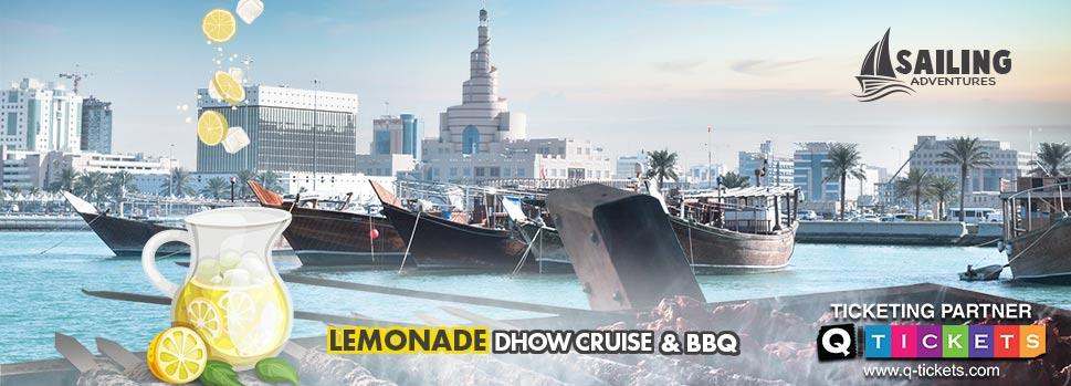 Lemonade Dhow Cruise & BBQ   Events   Tickets   Discounts   Qatar Day