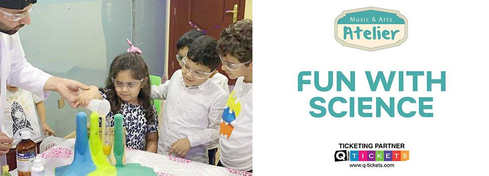 Kids Classes - Fun with Science   Events   Tickets   Discounts   Qatar Day