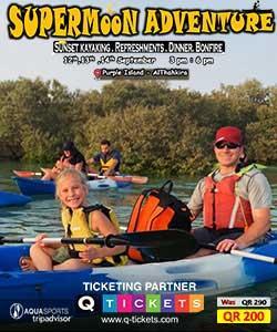 SuperMoon Adventure (Sunset Kayaking & Dinner ) Purple Island Alkhor