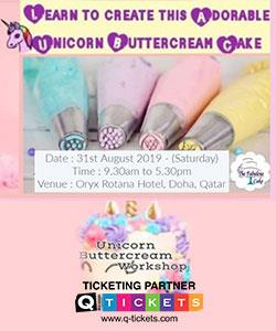 Unicorn Buttercream Cake Workshop (Beginners)