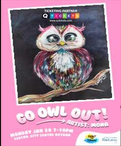 Paint The Town  Go Owl Out!