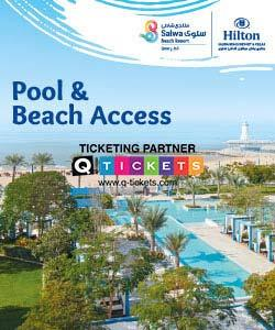 Resort Pool and Beach Access