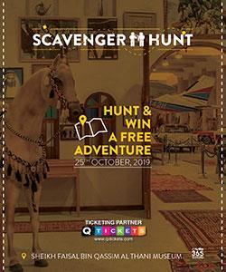 Scavenger Hunt in Sheikh Faisal Bin Qassim Al Thani Museum