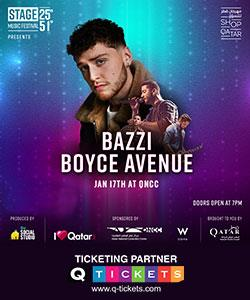 Stage 2551 presents Bazzi and Boyce Avenue