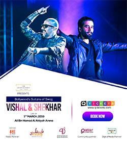 VISHAL and SHEKHAR  LIVE IN DOHA