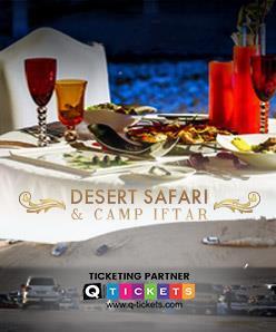 Desert Safari & Luxury Camp Iftar 8 June, 2018