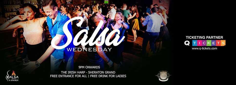 Salsa Wednesday | Events | Tickets | Discounts | Qatar Day