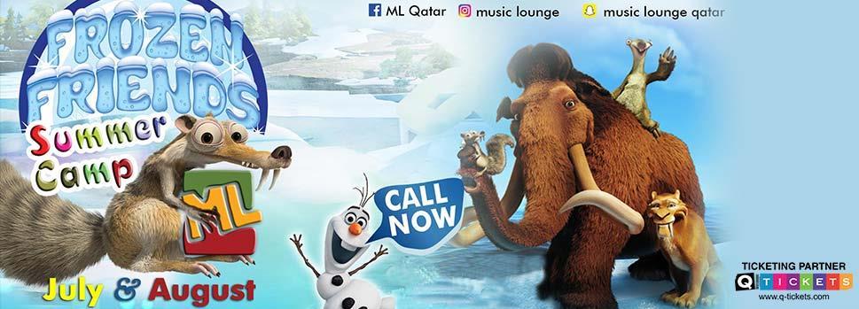 'FROZEN FRIENDS' Summer camp  | Events | Tickets | Discounts | Qatar Day