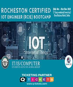 ROCHESTON's Certified IoT Engineer (RCIE) Certification BOOTCAMP
