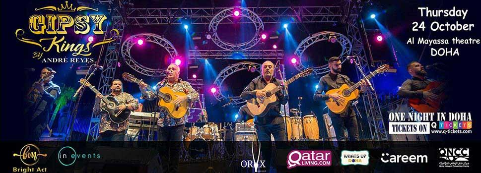 Gipsy Kings by Andre Reyes | Events | Tickets | Discounts | Qatar Day