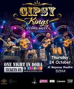 Gipsy Kings by Andre Reyes Qatar