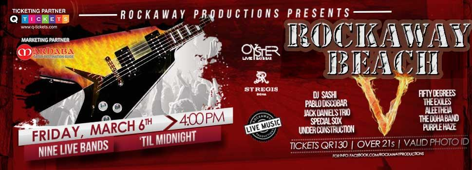ROCKAWAY BEACH V | Events | Tickets | Discounts | Qatar Day