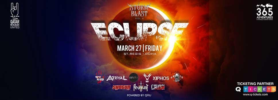 Storm Blast V : Eclipse | Events | Tickets | Discounts | Qatar Day