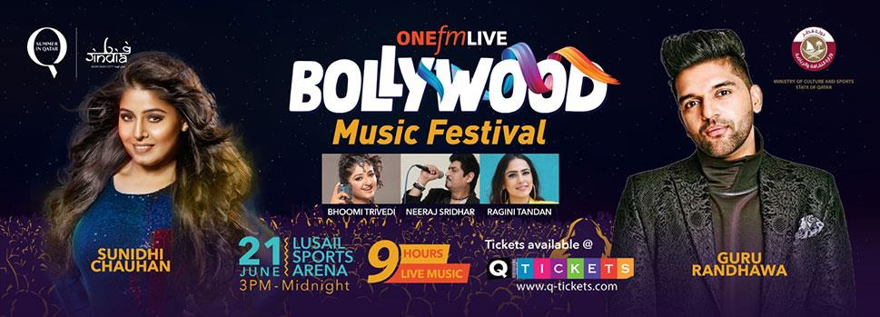 ONE FM LIVE BOLLYWOOD MUSIC FESTIVAL   Events   Tickets   Discounts   Qatar Day