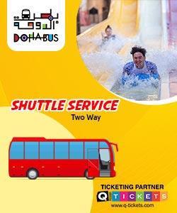 Shuttle Service (Two Way Shuttle Service) Desert Falls Water Park
