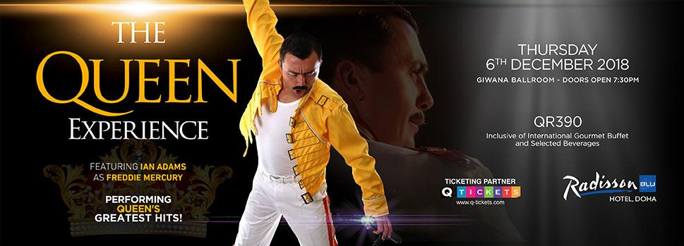 The Queen Experience | Events | Tickets | Discounts | Qatar Day