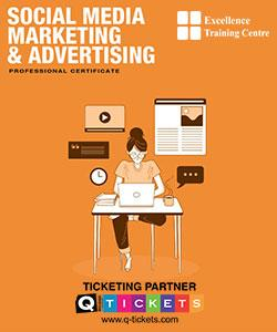 Professional Certificate in Social Media Marketing & Advertising