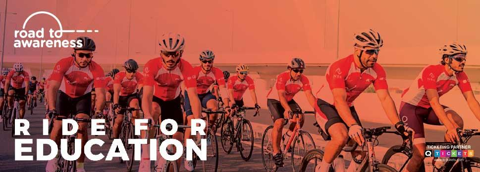 Road to Awareness: Ride for Education   Events   Tickets   Discounts   Qatar Day