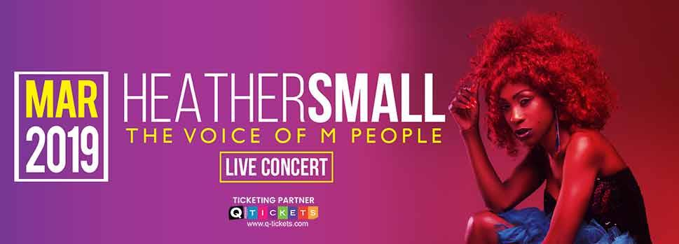 Heather Small live in Doha! | Events | Tickets | Discounts | Qatar Day