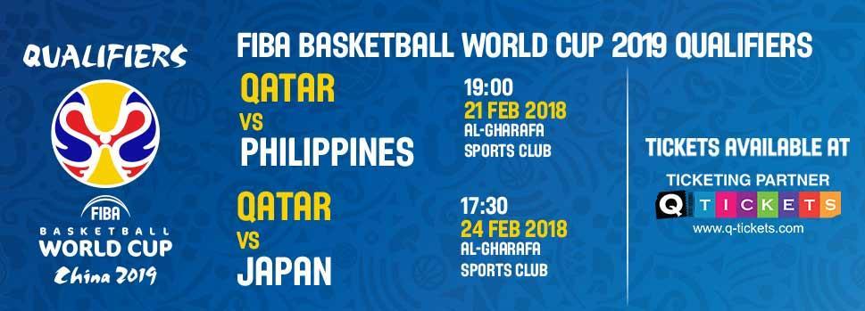 FIBA ASIA QUALIFIERS | Events | Tickets | Discounts | Qatar Day