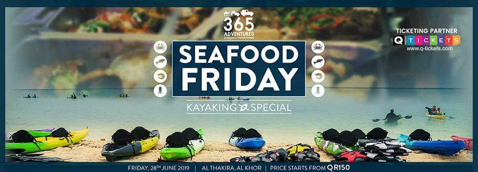 Kayaking at the Purple Island  Seafood Friday | Events | Tickets | Discounts | Qatar Day