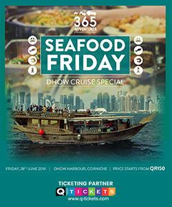Seafood Friday Dhow Cruise Special