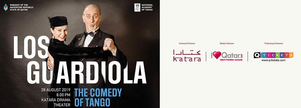 LOS GUARDIOLA The Comedy of Tango | Events | Tickets | Discounts | Qatar Day