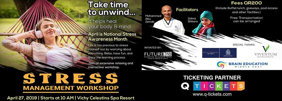 Stress Management Workshop | Events | Tickets | Discounts | Qatar Day
