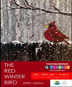 Paint The Town  The Red Winter Bird