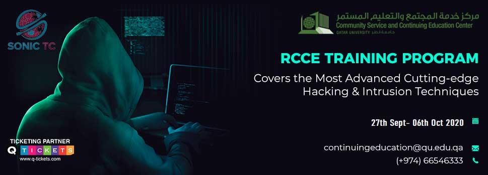ROCHESTONs Certified CyberSecurity Engineer (RCCE) - EXTREME HACKING NeXTGEN | Events | Tickets | Discounts | Qatar Day