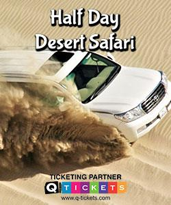 Half Day Desert Safari