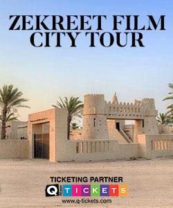 Zekreet film city (west coast tour)