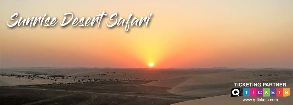 Sunrise Desert Safari | Events | Tickets | Discounts | Qatar Day